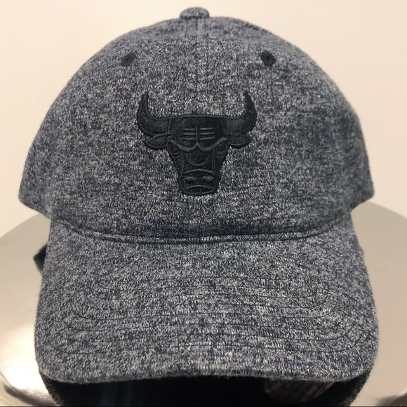 b6d7df1402f Chicago Bulls Brushed Jersey Dad Hat. NWT. Mitchell   Ness